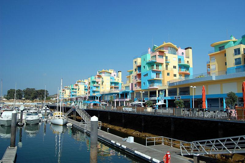 Marina of Albufeira, Algarve
