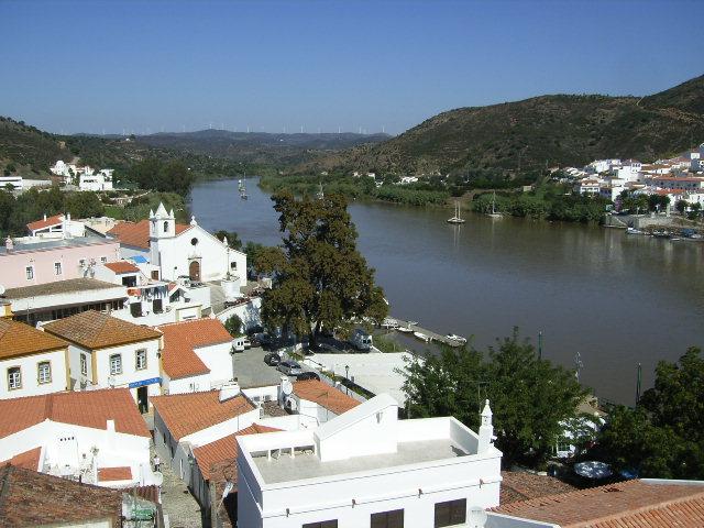 Guadiana river, Alcoutim, Algarve