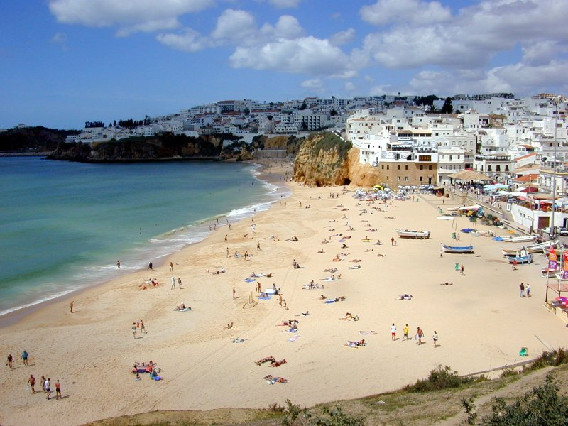 Beach of Bryn, Albufeira, Algarve