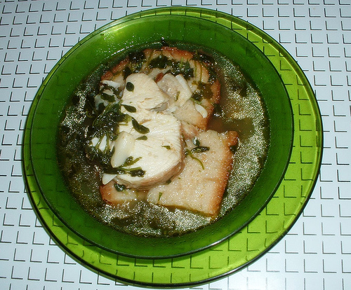 Sopa de cação (Cação soup)