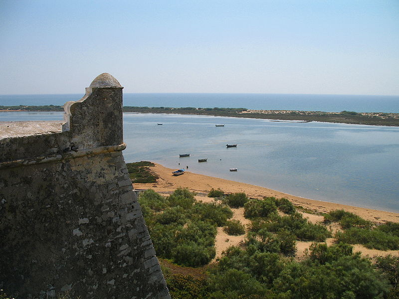 The fortress of Cacela Velha, Algarve