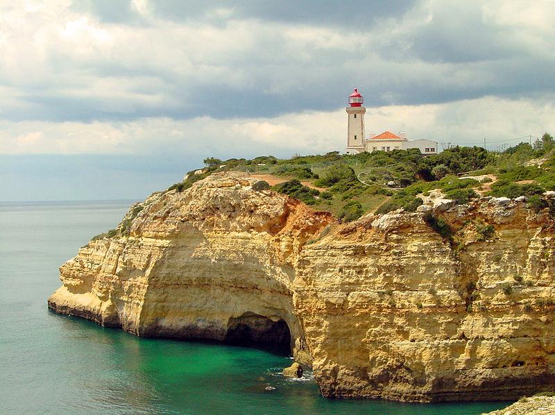Carvoeiro lighthouse, Portugal