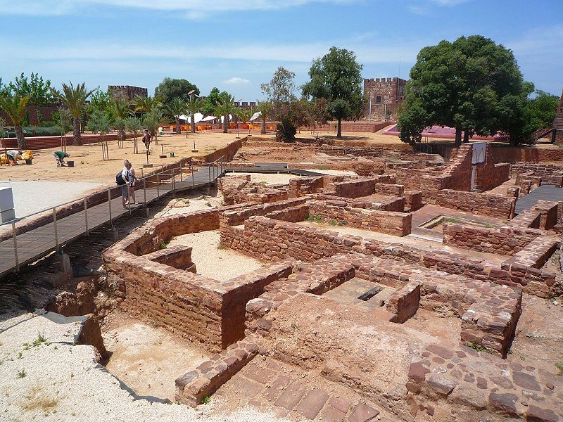 Excavations at Silves Castle