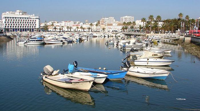 Faro's Marina, Algarve