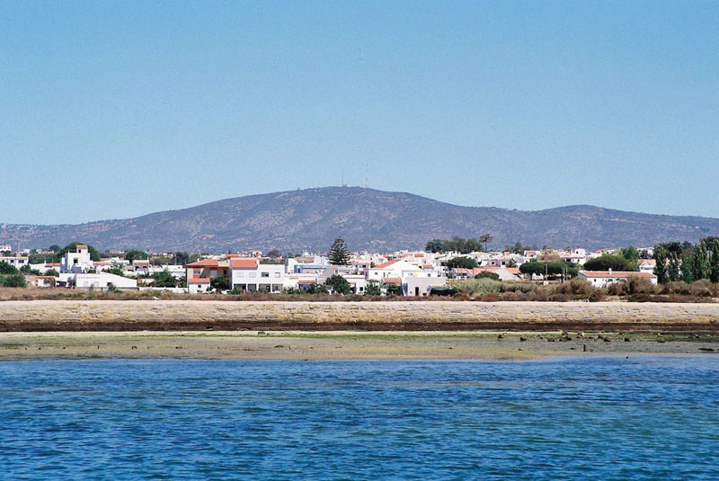 Coastal community of Olhão