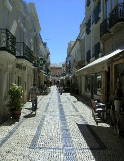 Rua do Comércio, Olhão