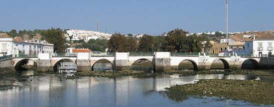 Roman bridge in Tavira, Algarve