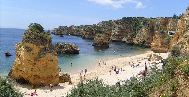 Praia da Dona Ana, Algarve