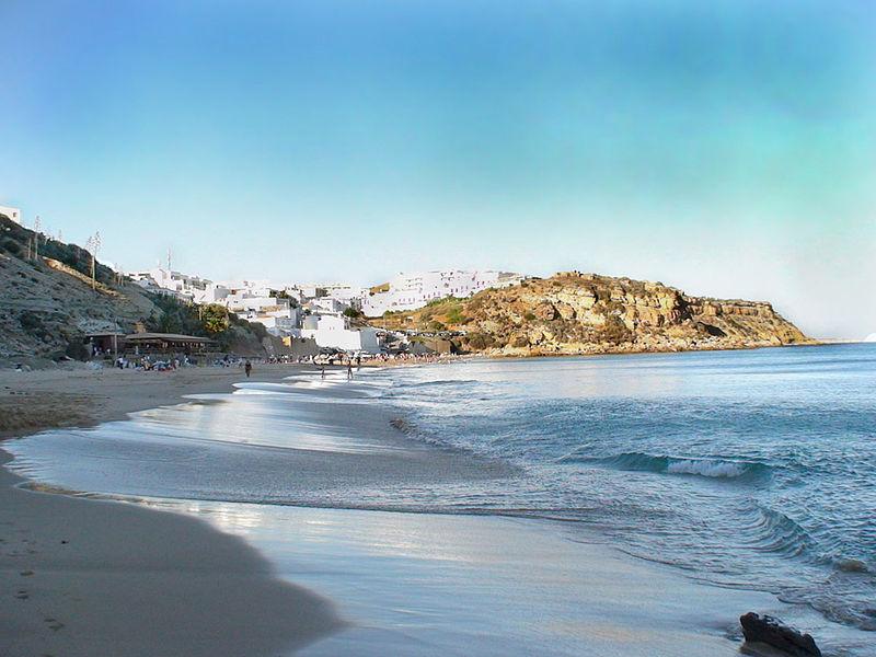 Praia do Burgau, Portugal