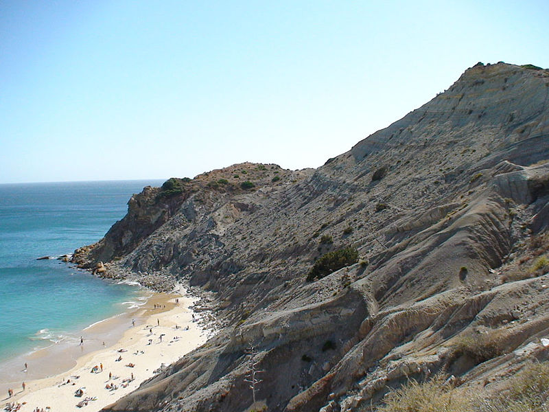Praia do Burgau, Algarve