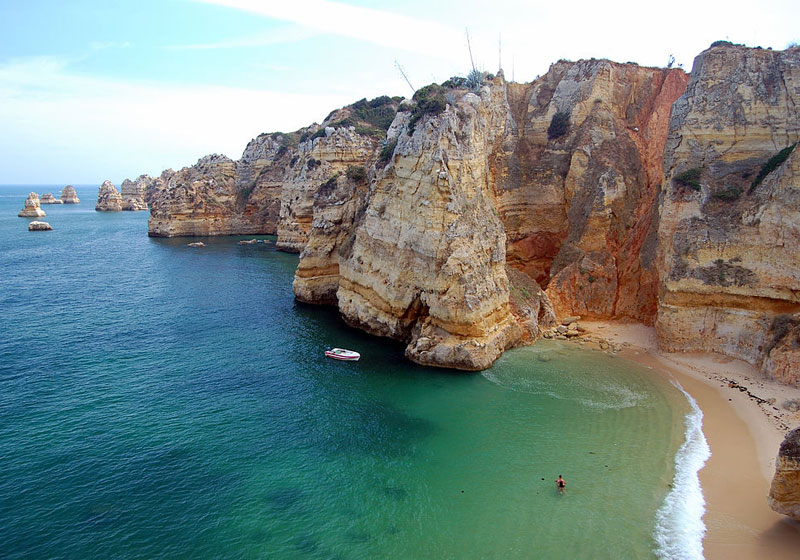 Praia da Dona Ana, Lagos, Algarve