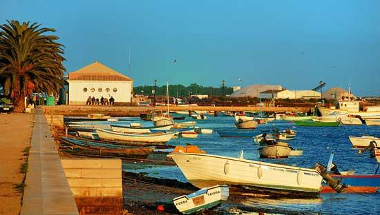 Santa Luzia harbour, Tavira