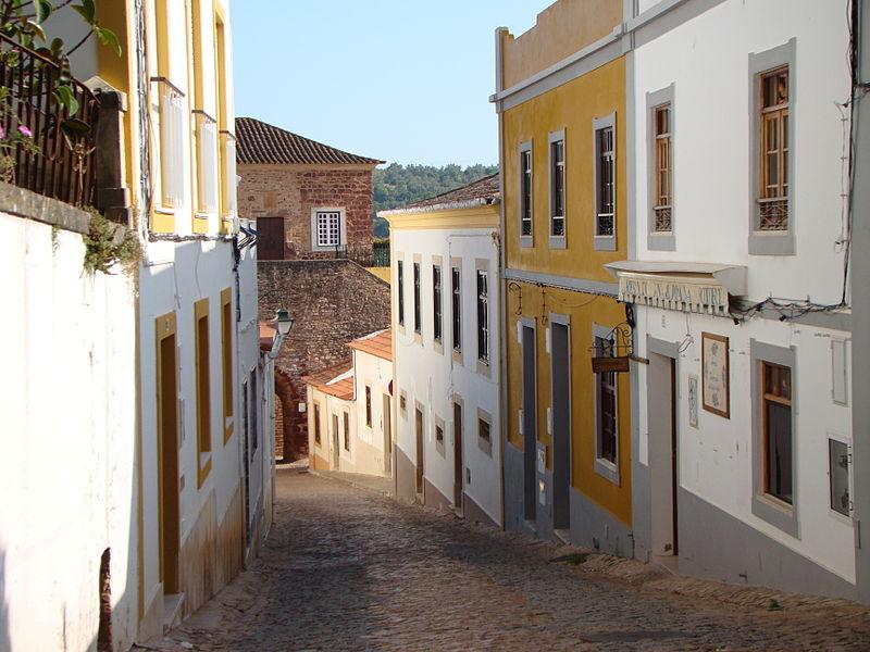 A street in Silves