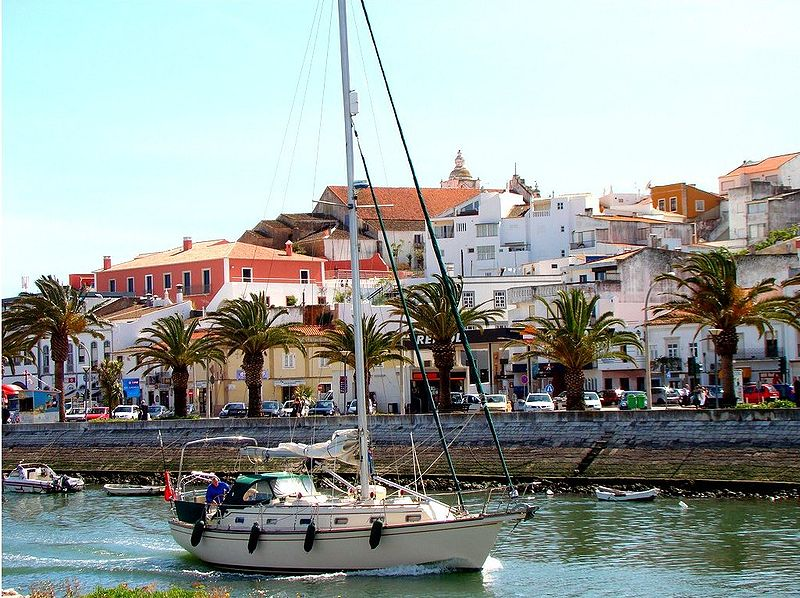 Waterfront in Lagos, Algarve