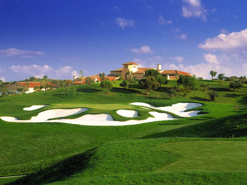 Monte Rei golf course, Algarve