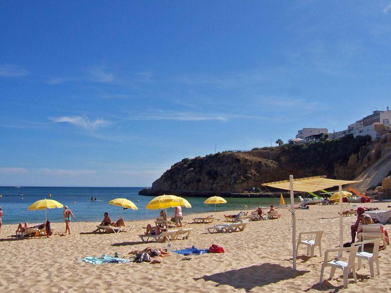 Albufeira Town Beach, Algarve